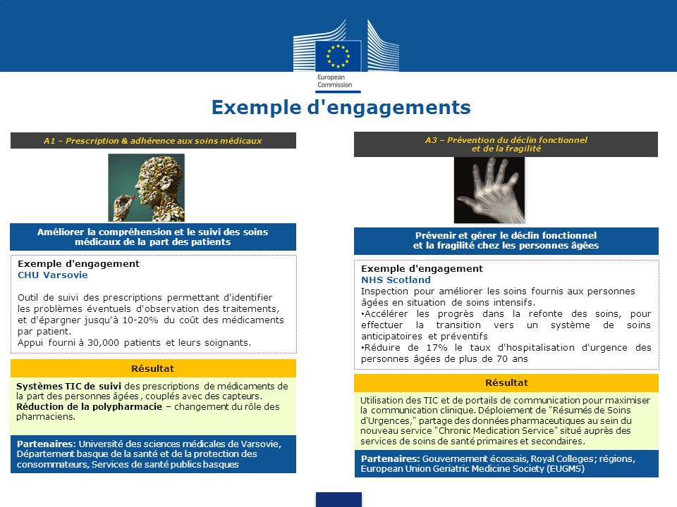 Exemple d engagements Exemple d engagement CHU Varsovie