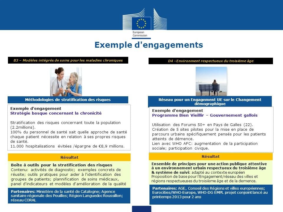 Exemple d engagements Exemple d engagement