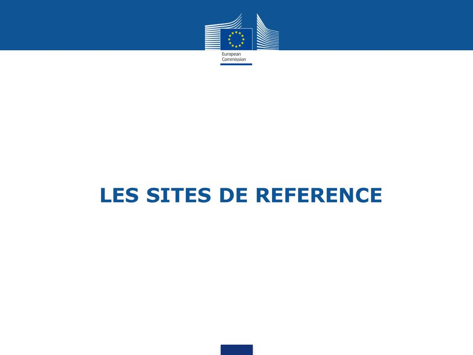 LES SITES DE REFERENCE
