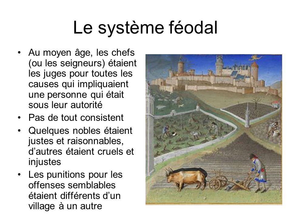 Le système féodal