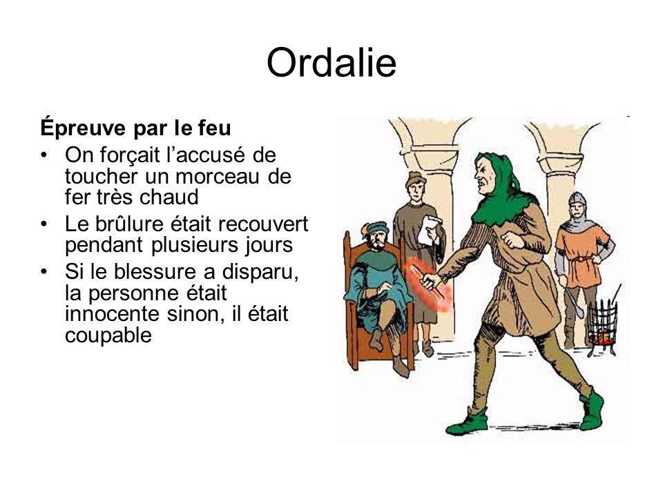 Ordalie Épreuve par le feu