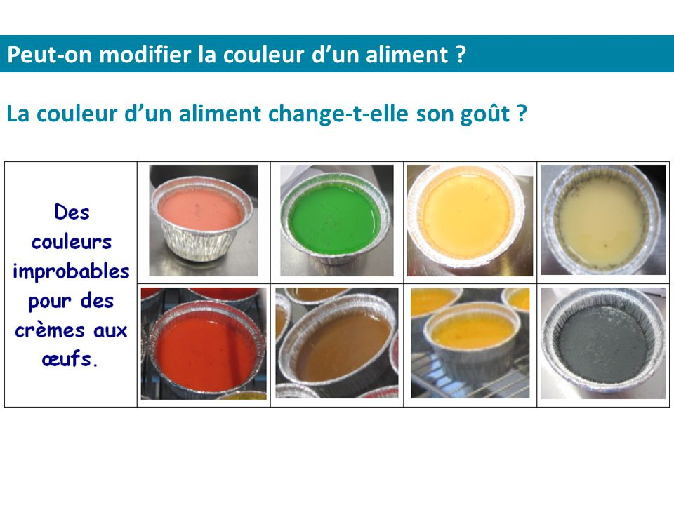 6e option sciences fioles et casseroles coll ge michel - Comment changer la couleur d un meuble ...