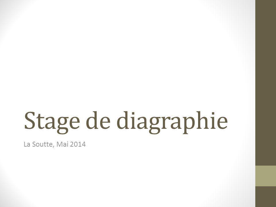 Stage de diagraphie La Soutte, Mai 2014