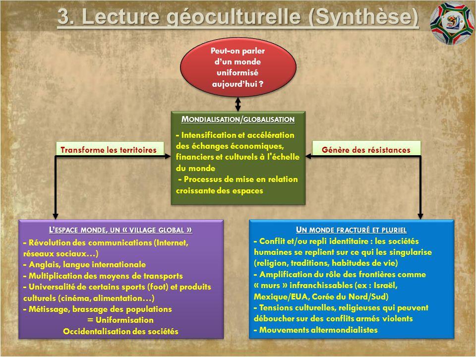 3. Lecture géoculturelle (Synthèse)