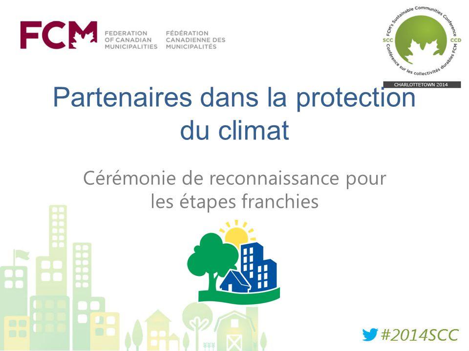 Partenaires dans la protection du climat