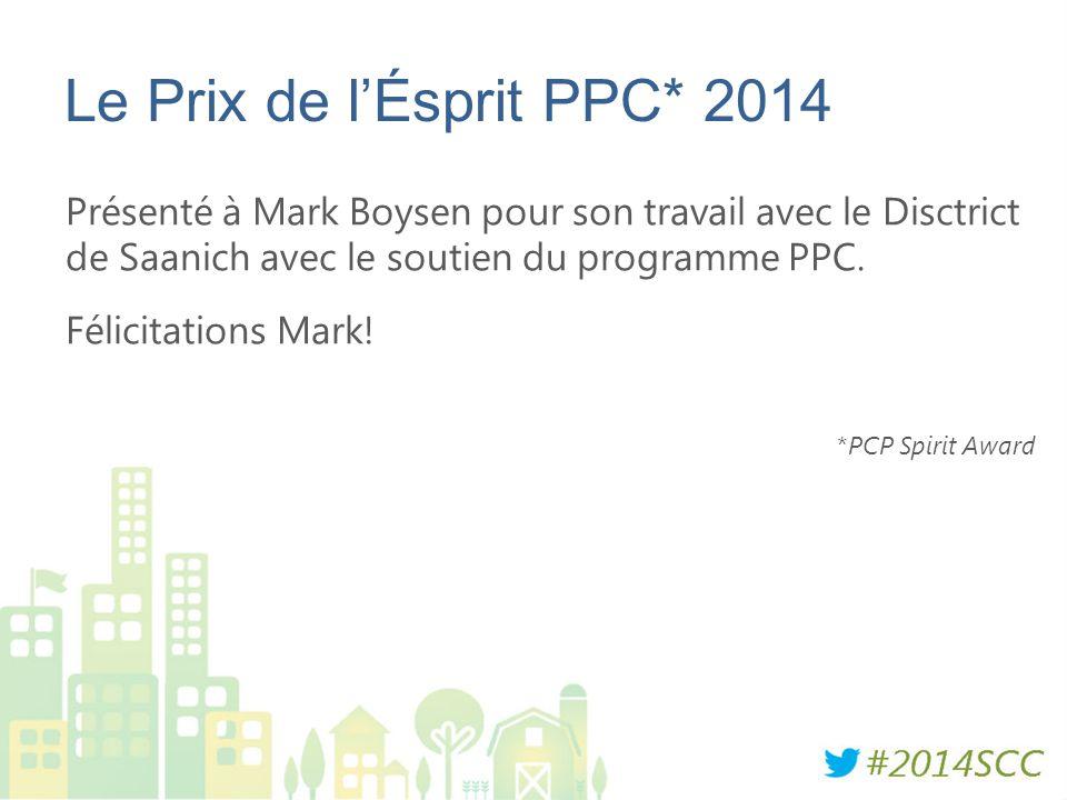 Le Prix de l'Ésprit PPC* 2014