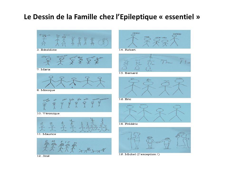 Le Dessin de la Famille chez l'Epileptique « essentiel »