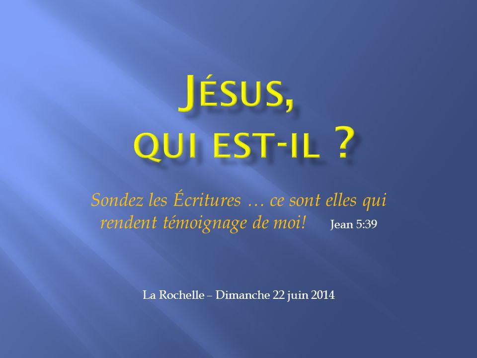 Introduction S approcher de Jésus-Christ, par l étude de la Parole, est le thème d excellence. C est une étude vitale,