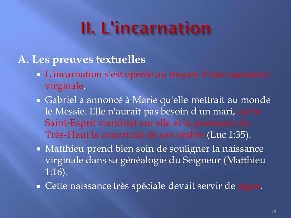 II. L incarnation B. Les généalogies