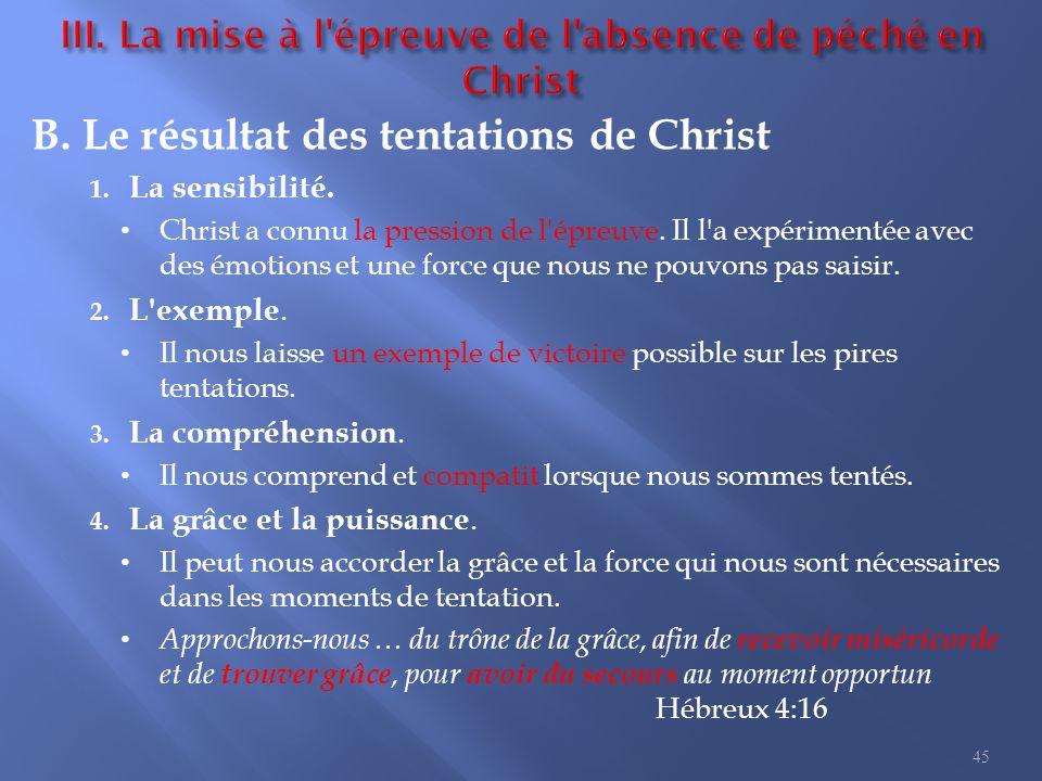 6. Jésus donnant sa vie I. L importance de la mort de Christ