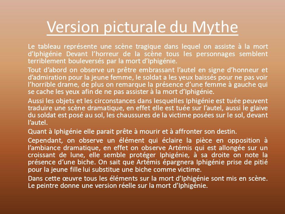 Version picturale du Mythe