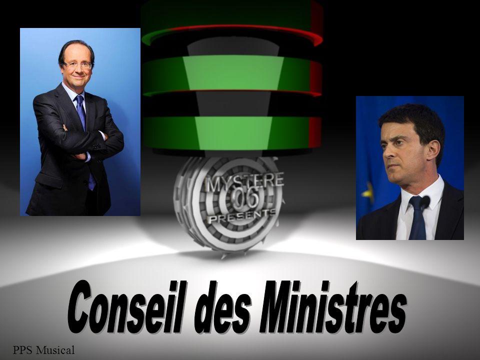 Conseil des Ministres PPS Musical 1