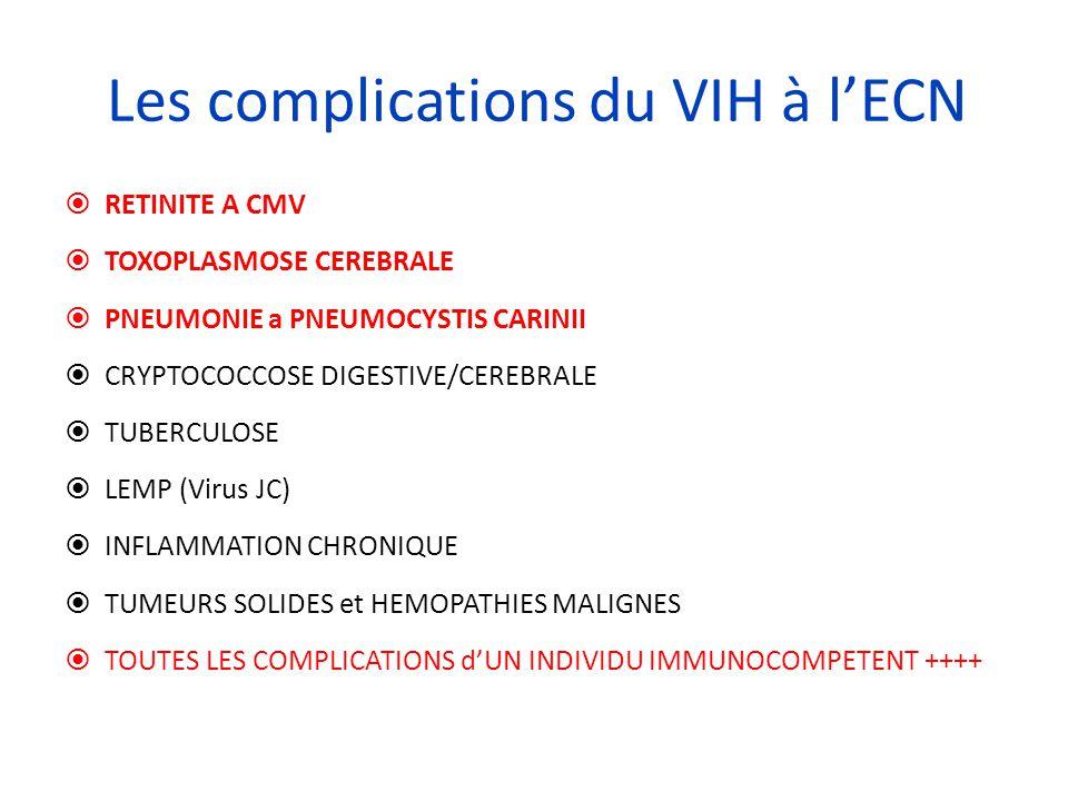 Les complications du VIH à l'ECN