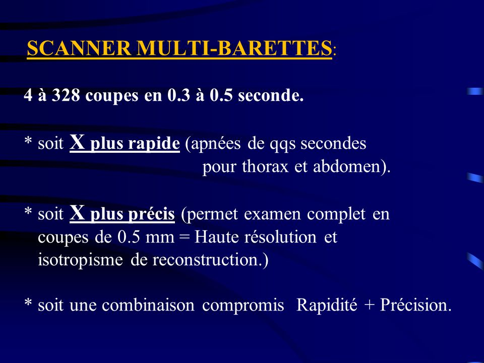 SCANNER MULTI-BARETTES: