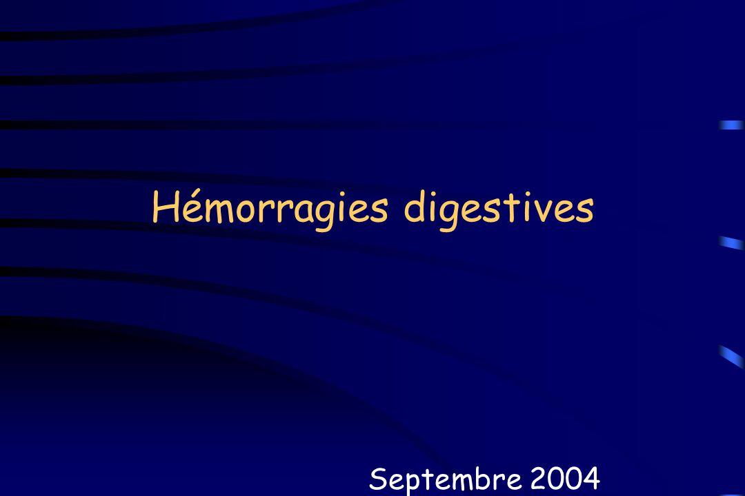 Hémorragies digestives