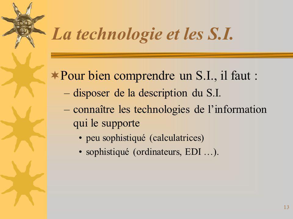 La technologie et les S.I.