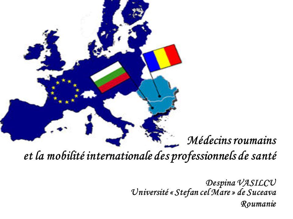 Despina VASILCU Université « Stefan cel Mare » de Suceava Roumanie