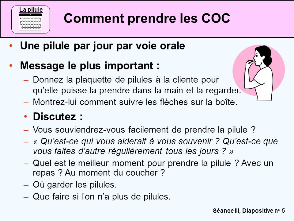 Contraceptifs oraux combinés (COC) - ppt video online
