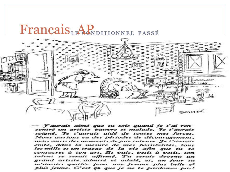 Français AP LE CONDITIONNEL PASSÉ