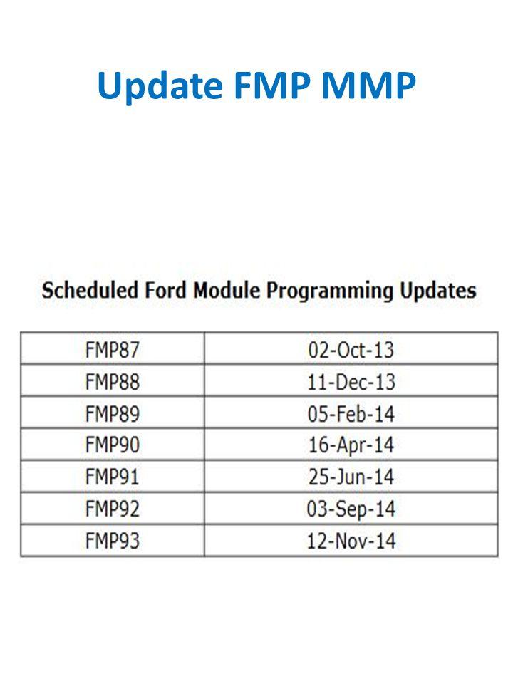 Update FMP MMP