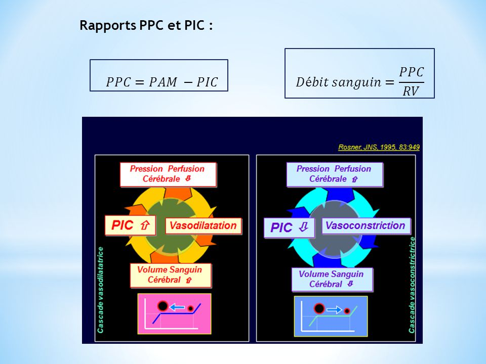 Rapports PPC et PIC : 𝑃𝑃𝐶=𝑃𝐴𝑀 −𝑃𝐼𝐶 𝐷é𝑏𝑖𝑡 𝑠𝑎𝑛𝑔𝑢𝑖𝑛= 𝑃𝑃𝐶 𝑅𝑉