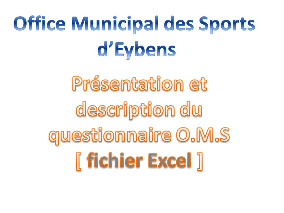 Office Municipal des Sports d'Eybens