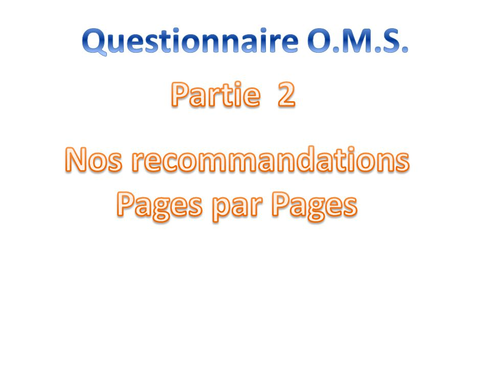 Nos recommandations Pages par Pages
