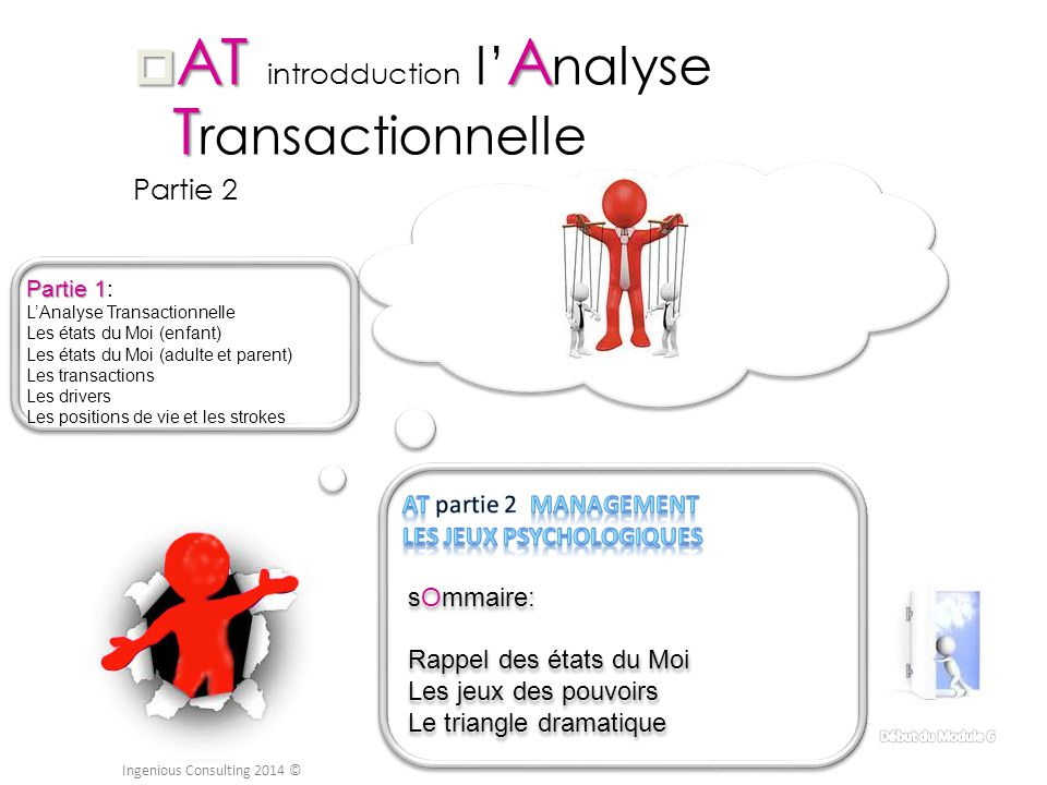 AT introdduction l'Analyse Transactionnelle