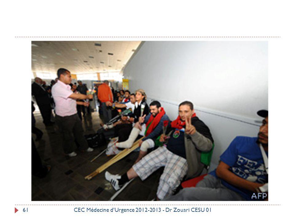 CEC Médecine d Urgence 2012-2013 - Dr Zouari CESU 01