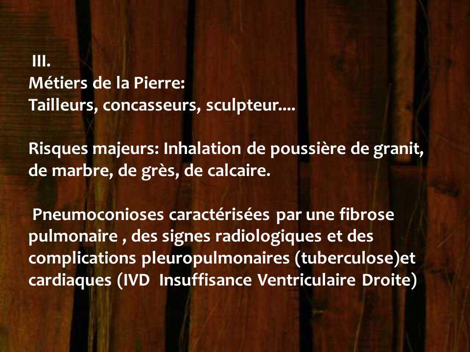 Tailleurs, concasseurs, sculpteur....