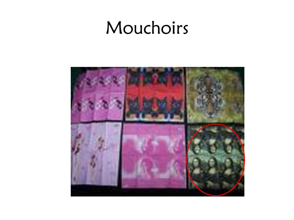 Mouchoirs