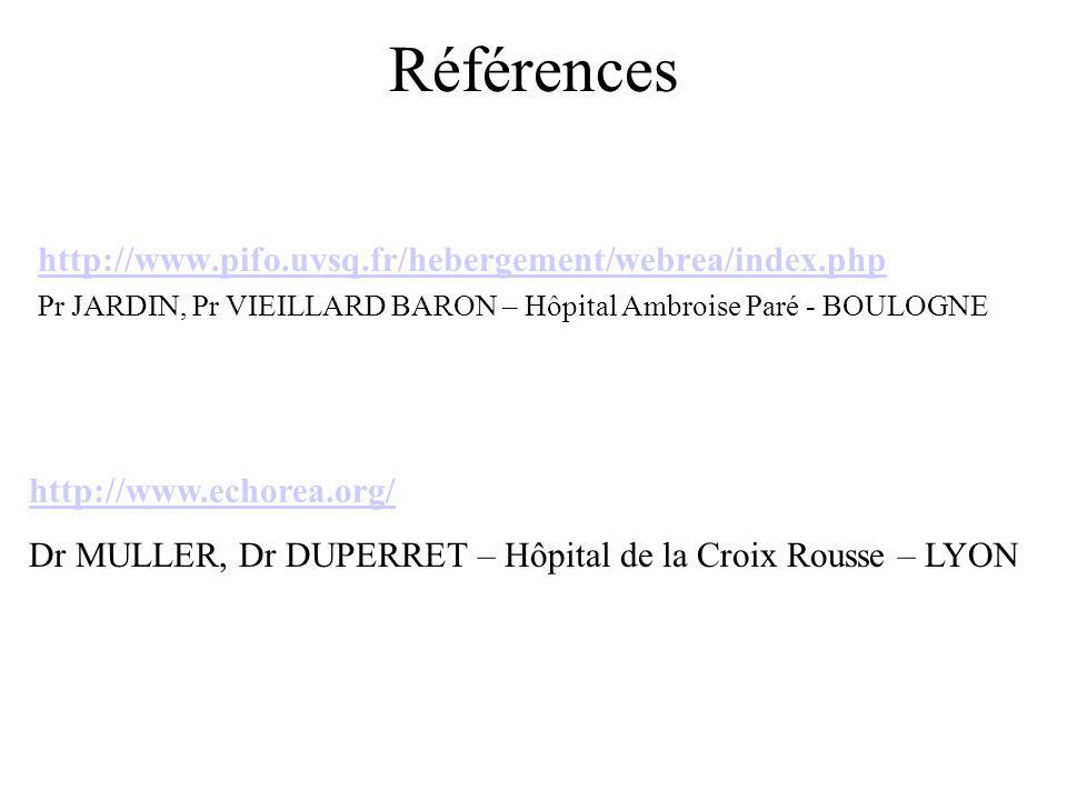 Références http://www.pifo.uvsq.fr/hebergement/webrea/index.php