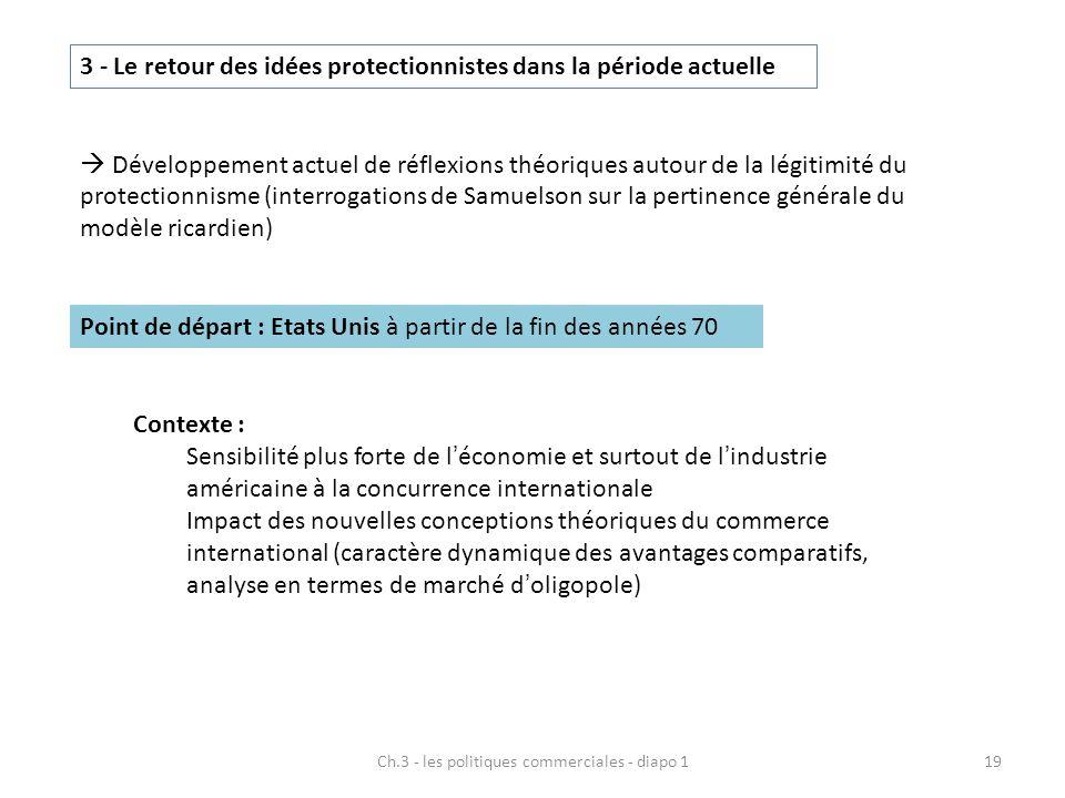 Ch.3 - les politiques commerciales - diapo 1