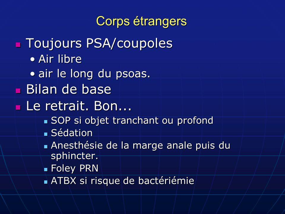 Toujours PSA/coupoles