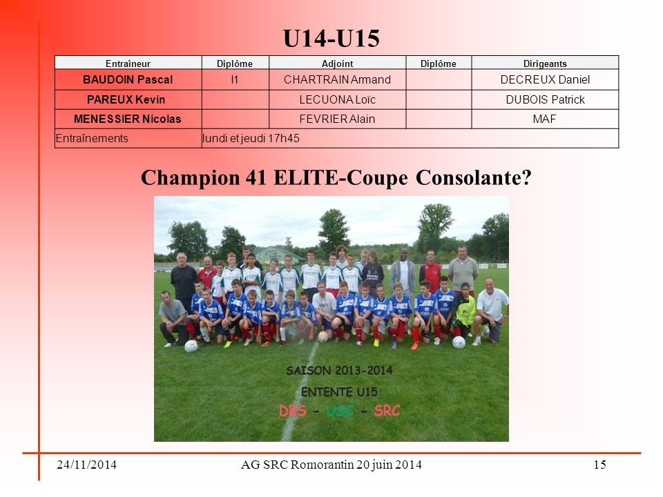 Champion 41 ELITE-Coupe Consolante