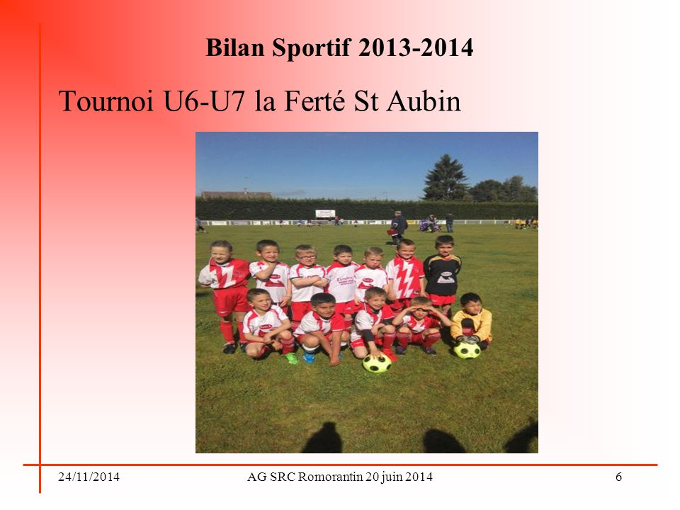 Tournoi U6-U7 la Ferté St Aubin