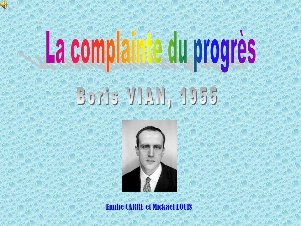 La complainte du progrès
