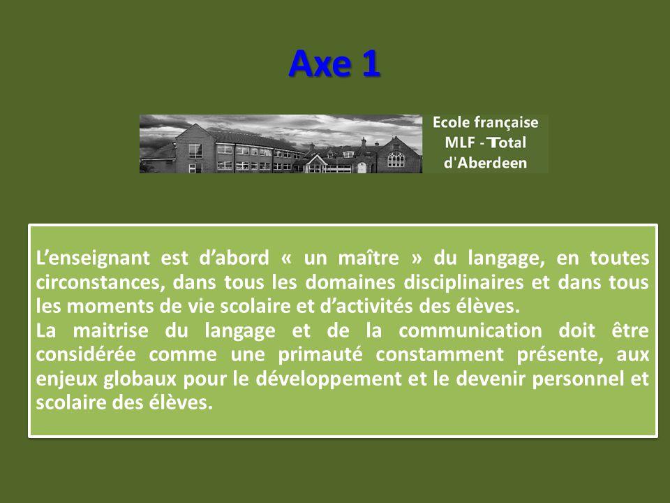 Maîtrise de la langue française et de la communication