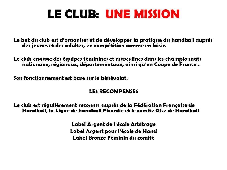 LE CLUB: UNE MISSION