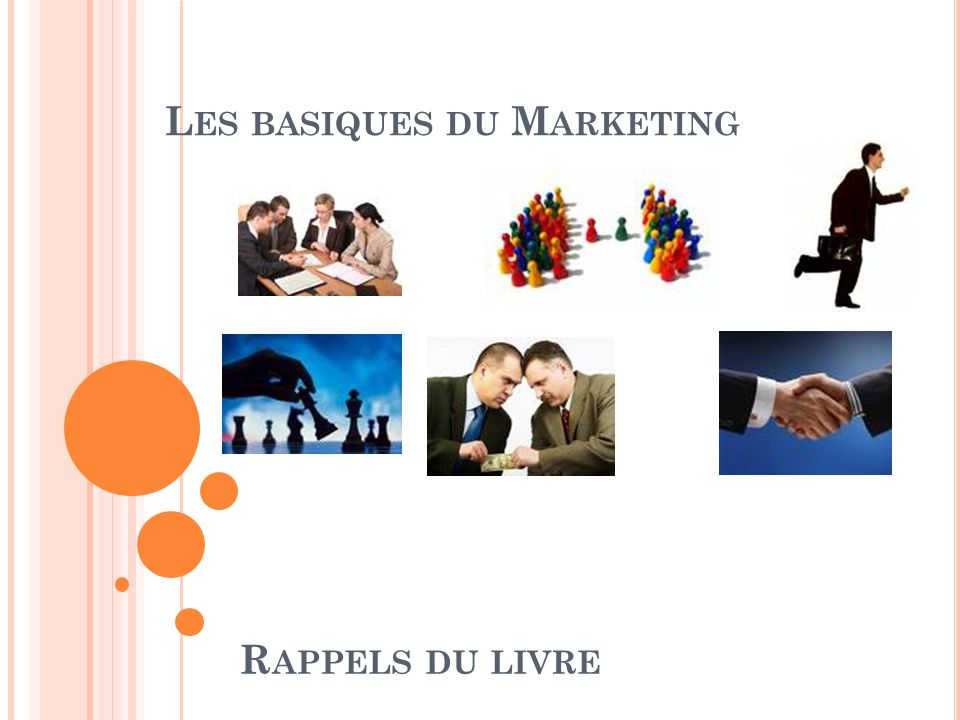 Les basiques du Marketing