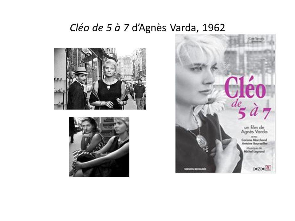 Cléo de 5 à 7 d'Agnès Varda, 1962