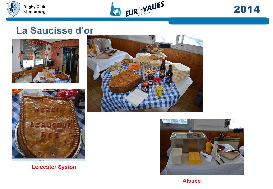 La Saucisse d or Leicester Syston Alsace