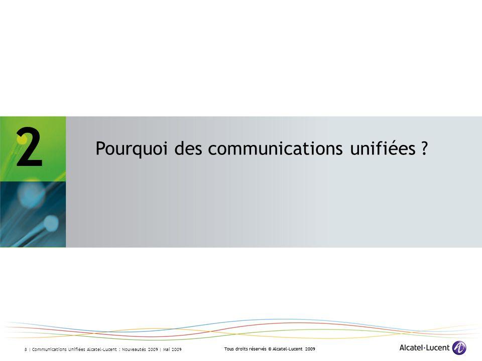 2 - Pourquoi des communications unifiées