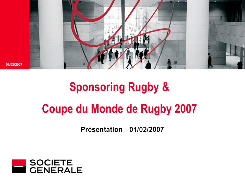 Sponsoring Rugby & Coupe du Monde de Rugby 2007