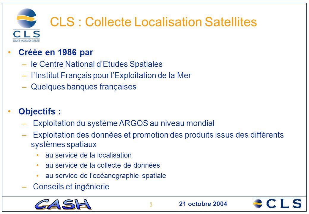 CLS : Collecte Localisation Satellites