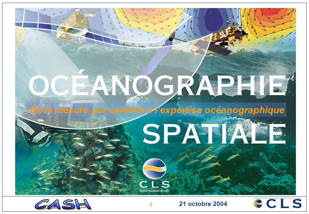 De la mesure par satellite à l'expertise océanographique