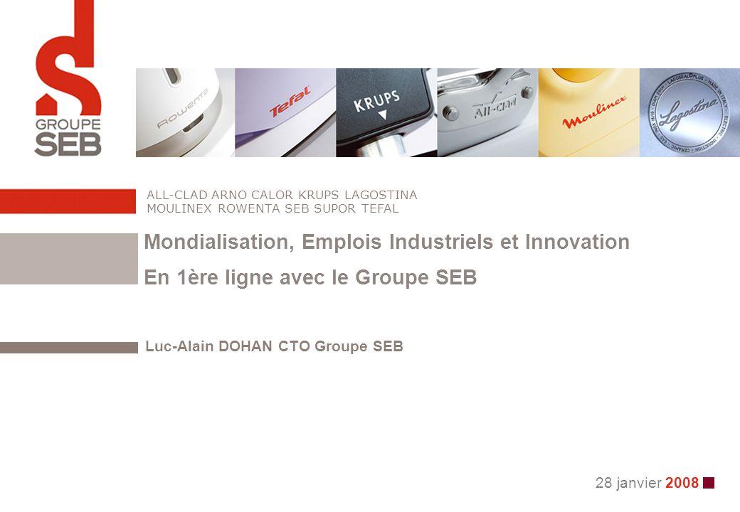Luc-Alain DOHAN CTO Groupe SEB
