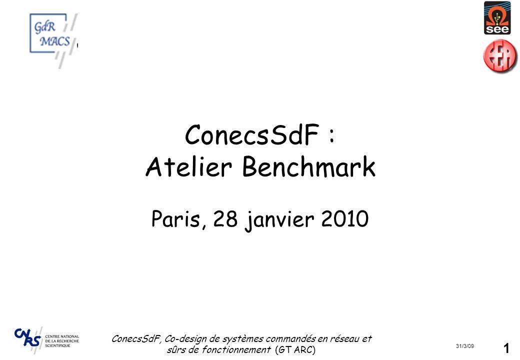 ConecsSdF : Atelier Benchmark