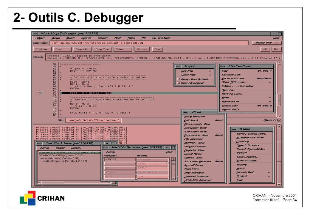 2- Outils C. Debugger