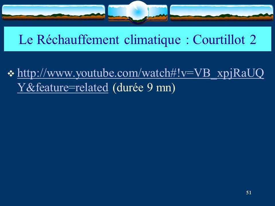 Le Réchauffement climatique : Courtillot 2